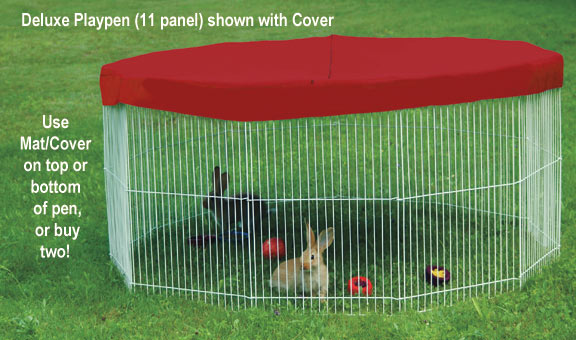 playpen with cover