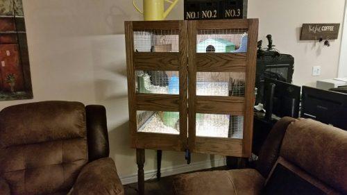 Joshua Cane's DIY Guinea Pig Cage For Two